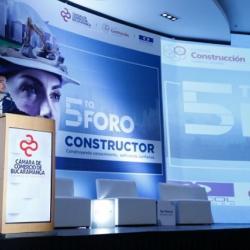 FINALIZÓ DE MANERA EXITOSA EL 5 FORO CONSTRUCTOR DE LA CCB: \